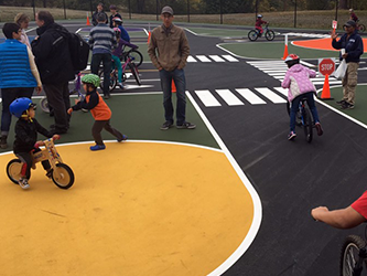 Learn about traffic gardens and take a survey about building one locally