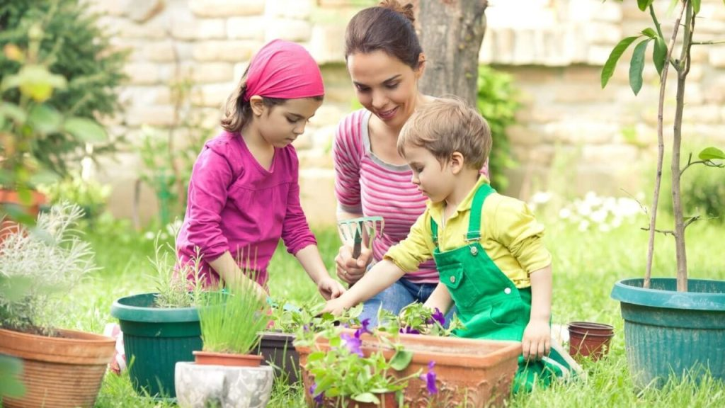 Learn about gardening with kids on June 2