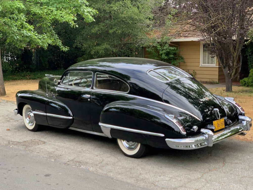 Spotted: 1940s era Cadillac Coupe