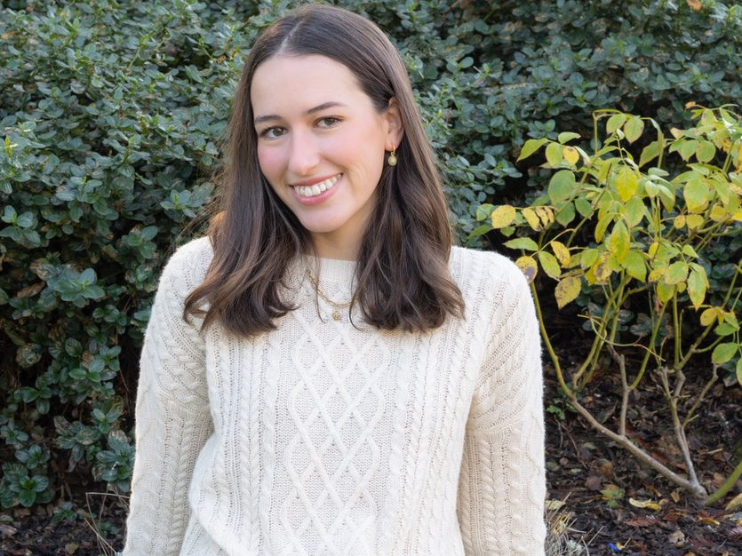 Lauren McGinnis caps off college years by designing a clothing collection