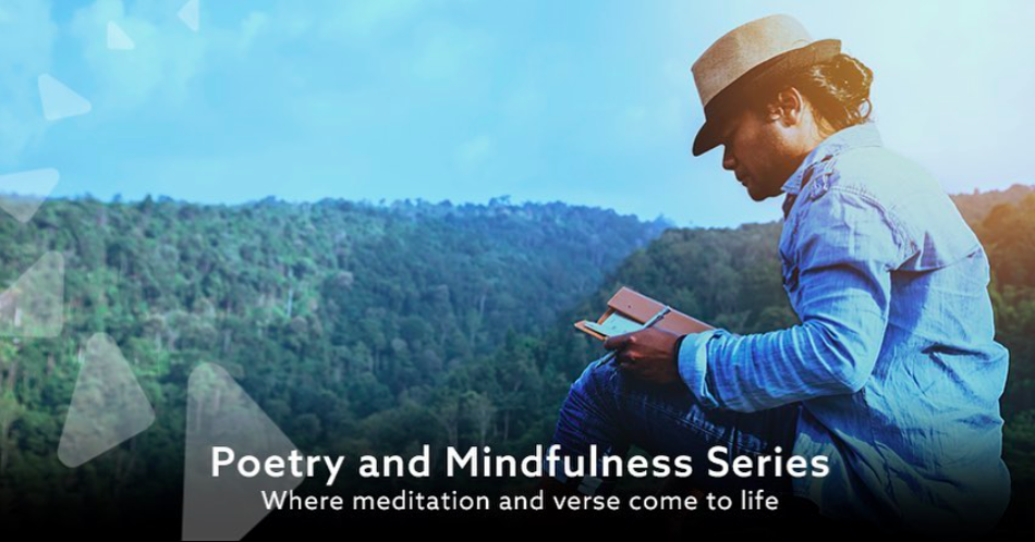 Poetry and Mindfulness is topic on May 26