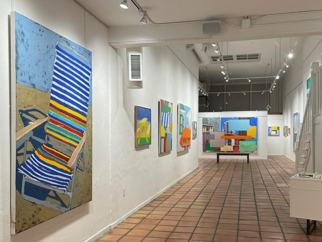 Mitchell Johnson's exhibit at Pamela Walsh Gallery extended