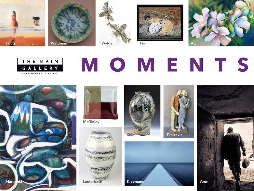 Moments is theme of Main Gallery exhibit through August 15