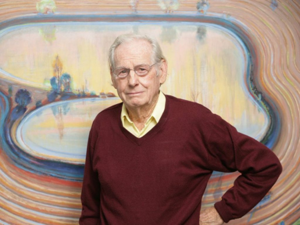 Woodside's First Friday on June 4: Wayne Thiebaud in his Own Words By Jim Caldwell