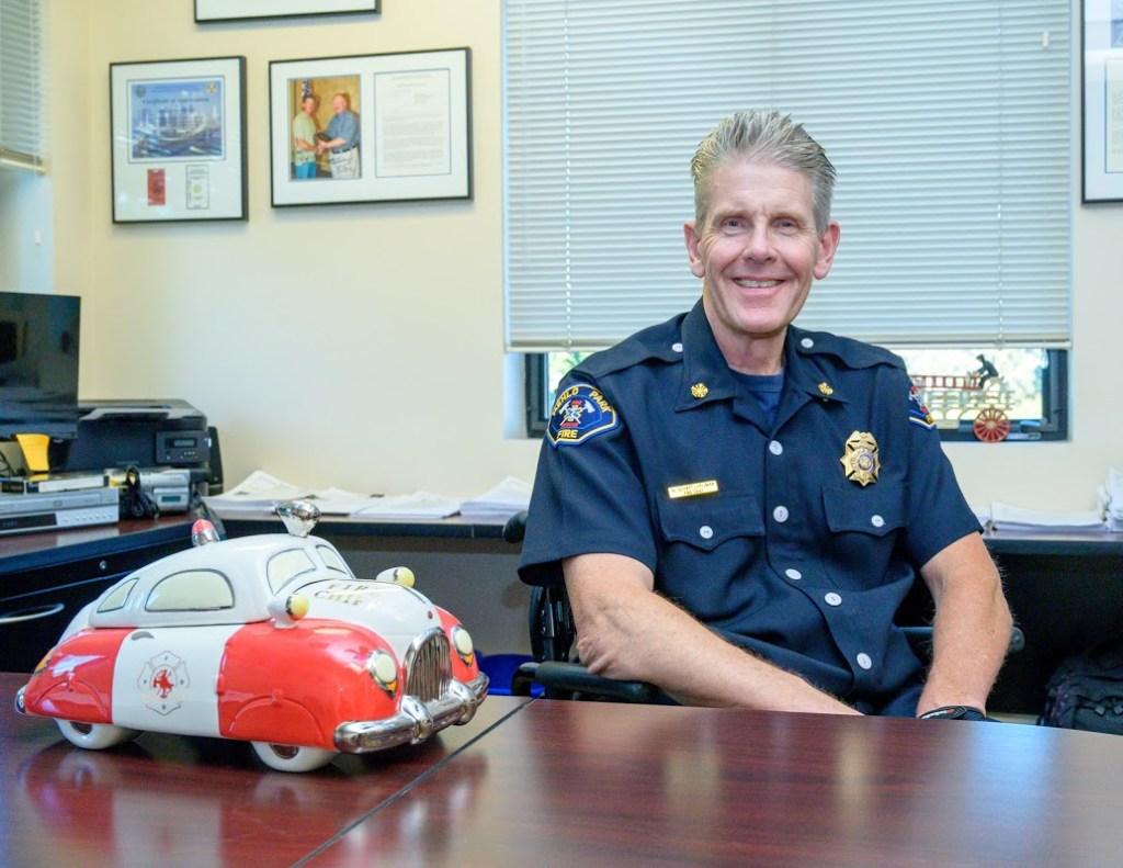 Fire Chief Harold Schapelhouman retires after 40 years with Menlo Park Fire