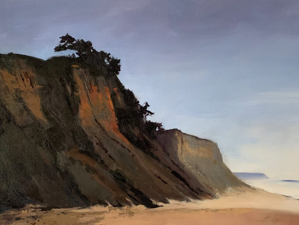 Claudia J. Morgan's landscapes and still lifes are featured in June at Portola Art Gallery