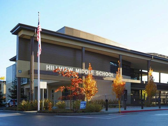 Hillview Middle School students honored for French language accomplishments