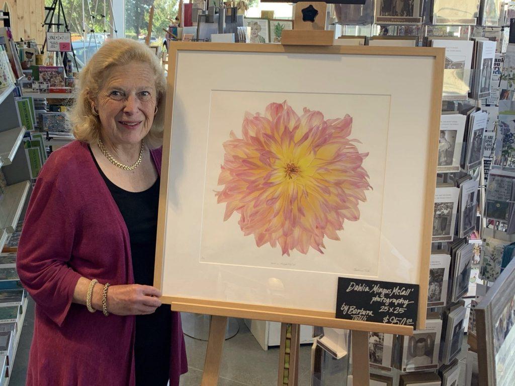 Barbara Tuffli's dazzling dahlia photographs on display at University Art