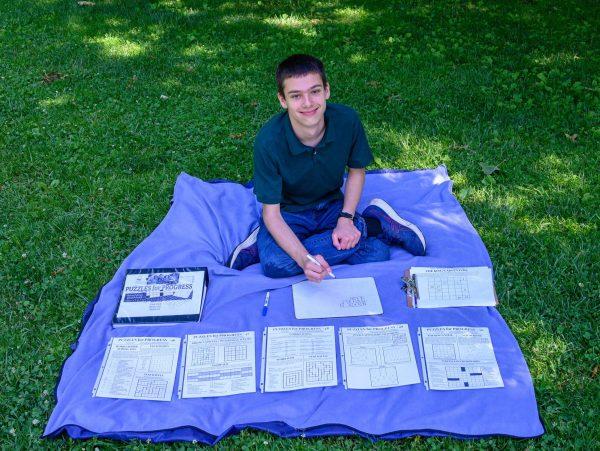 Jacob Cohen is Menlo Park puzzle maker with a philanthropic bent