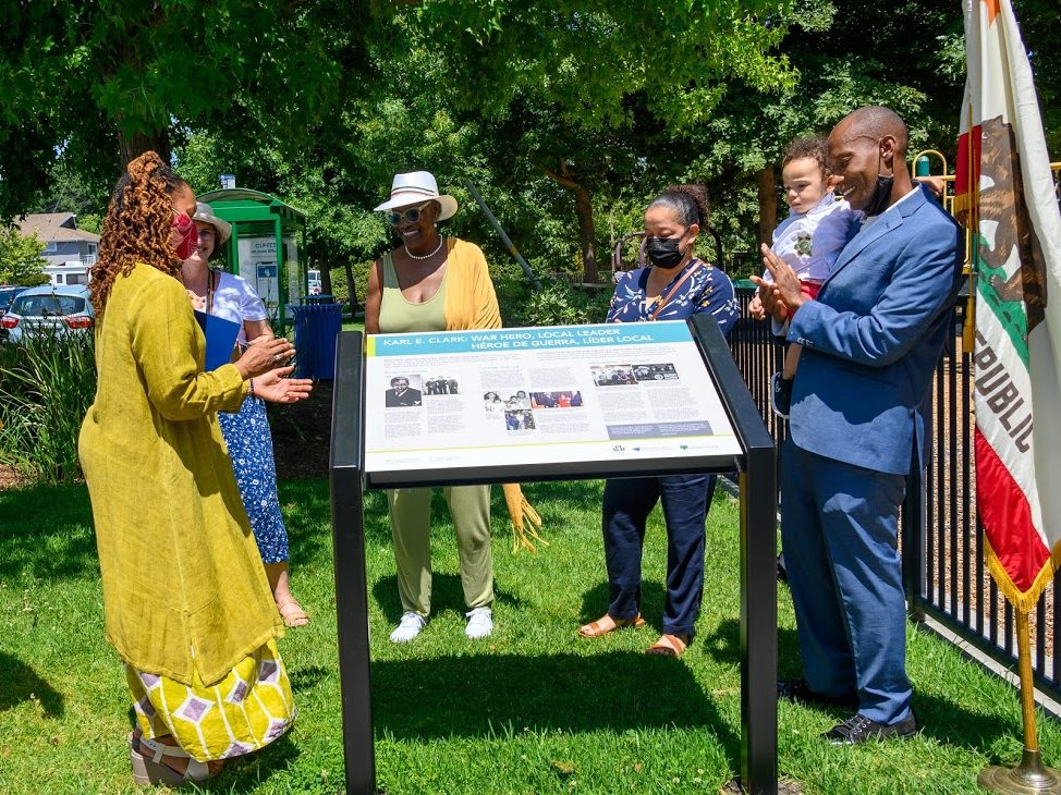 On historic Juneteenth, community honors life and deeds of Karl Clark