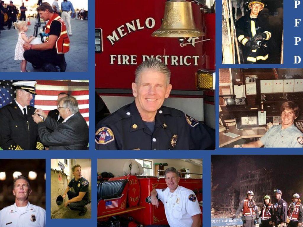 Retirement celebration for Menlo Fire Chief Harold Schapelhouman set for June 28