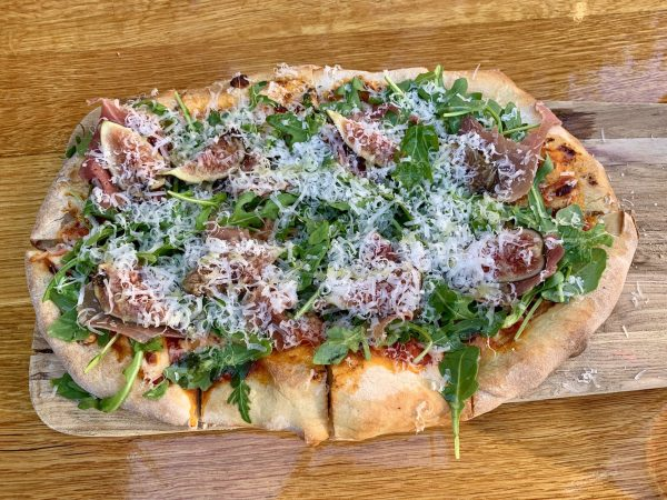 Spotted: Perfect summer pizza at Oak & Violet