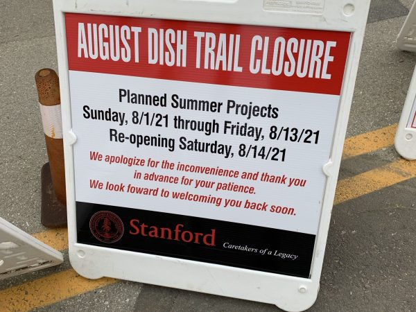 Heads up: Big Dish trail closed August 1-13