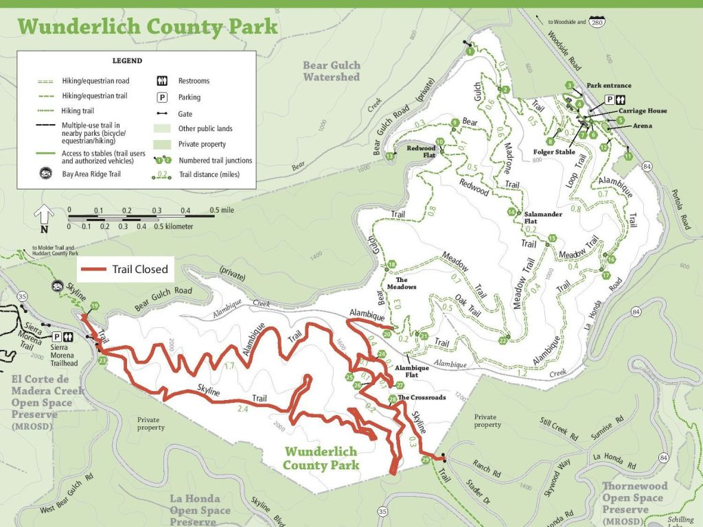 Trails closed in Wunderlich as crews work to reduce fire risk and improve forest health