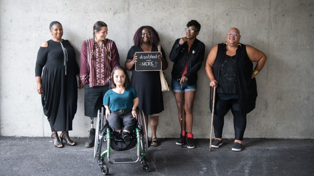 Disability awareness in the racial/social justice movement is topic on July 19