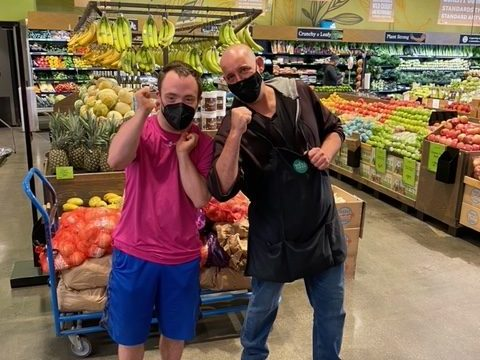 It's all things frozen—and more—for Riley and TJ at Whole Foods
