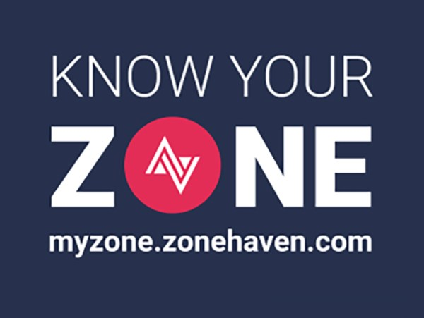 Prepare for emergency evacuations by knowing your Zone