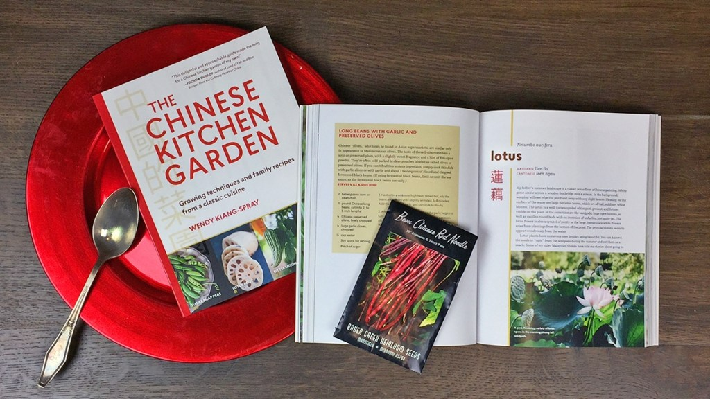 The Chinese Kitchen Garden is topic on August 26