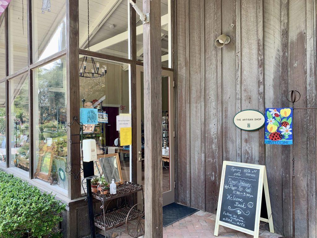Artisan Shop at Allied Arts Guild hosts sidewalk sale on August 15