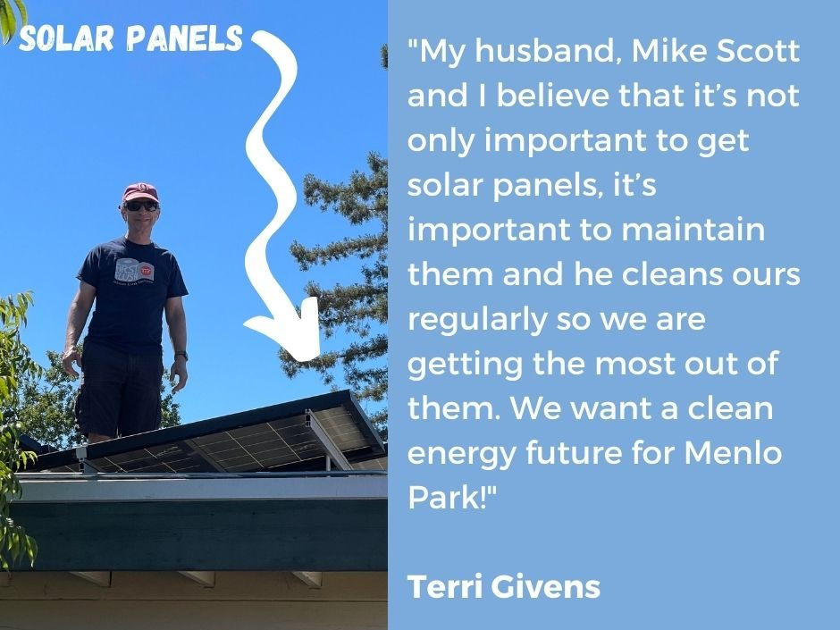 Celebrating Menlo Park's local climate leaders on the one-year anniversary of the Climate Action Plan