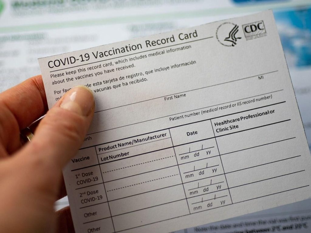 Get a digital vaccination record on state website
