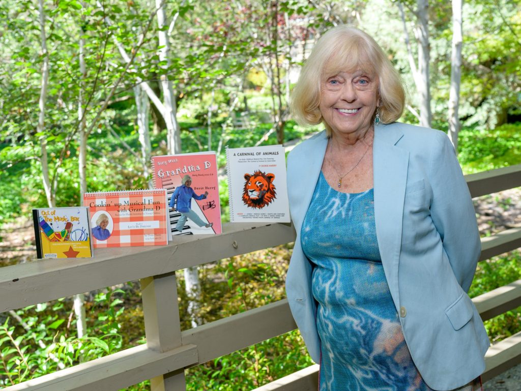 Learning music is fun for Doris Harry — and she can show your family why