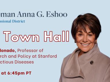 Congresswoman Eshoo holds Telephone Town Hall meeting on September 9