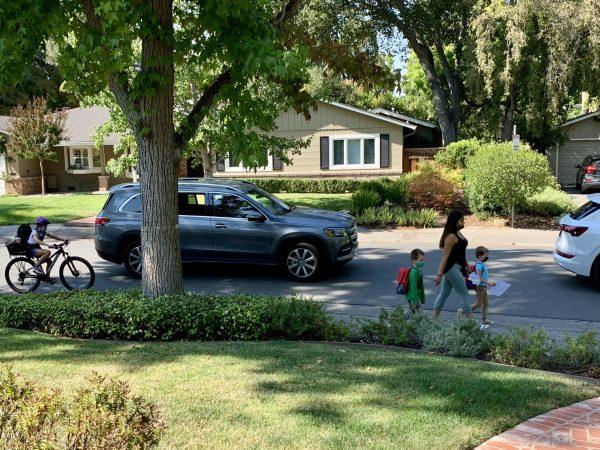 Menlo Park City School District urges safe walking, biking and driving