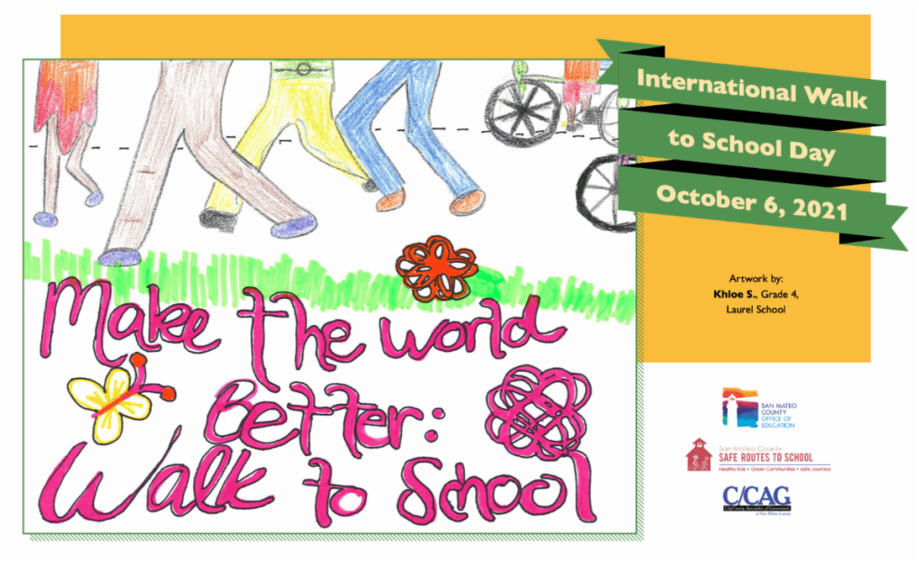 Plan to take part in International Walk to School Day