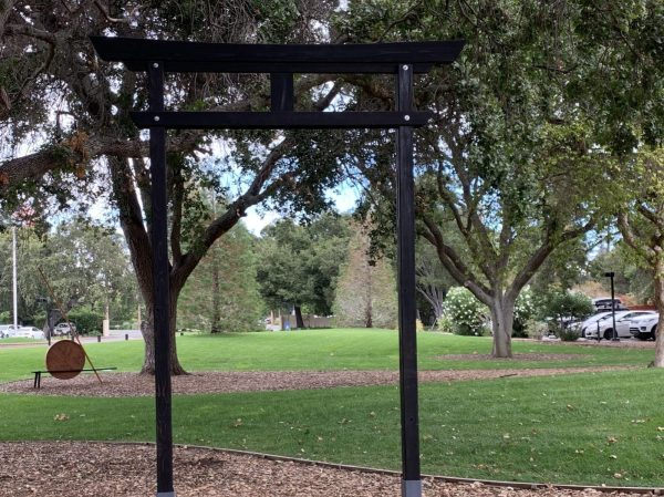 Activities around The Peace Gate kick off Silicon Valley Sculpture 2021