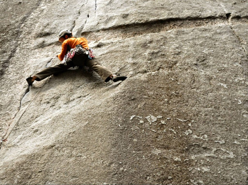 Dan Spors: At home in the pulpit and scaling a rock wall