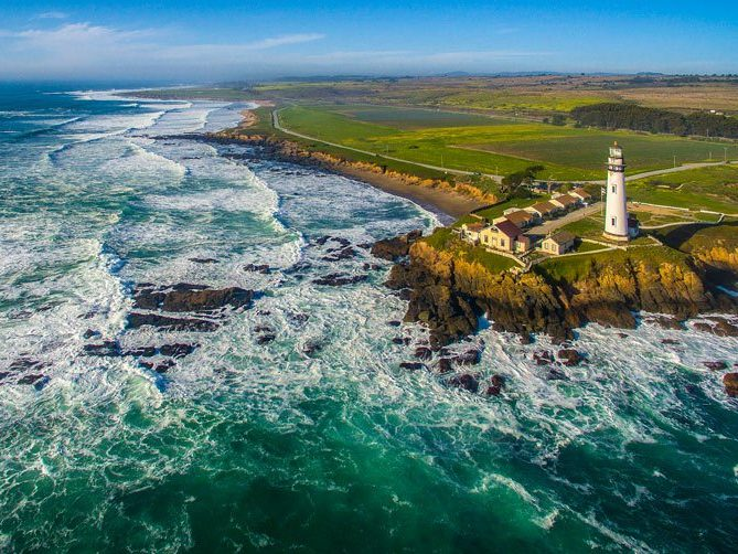 Head coast side to discover the area near iconic Pigeon Point Lighthouse