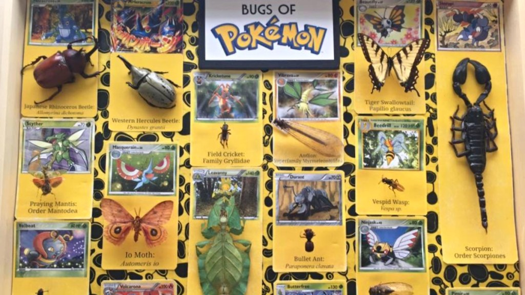 After-School STEAM: The Bugs of Pokémon is set for October 21