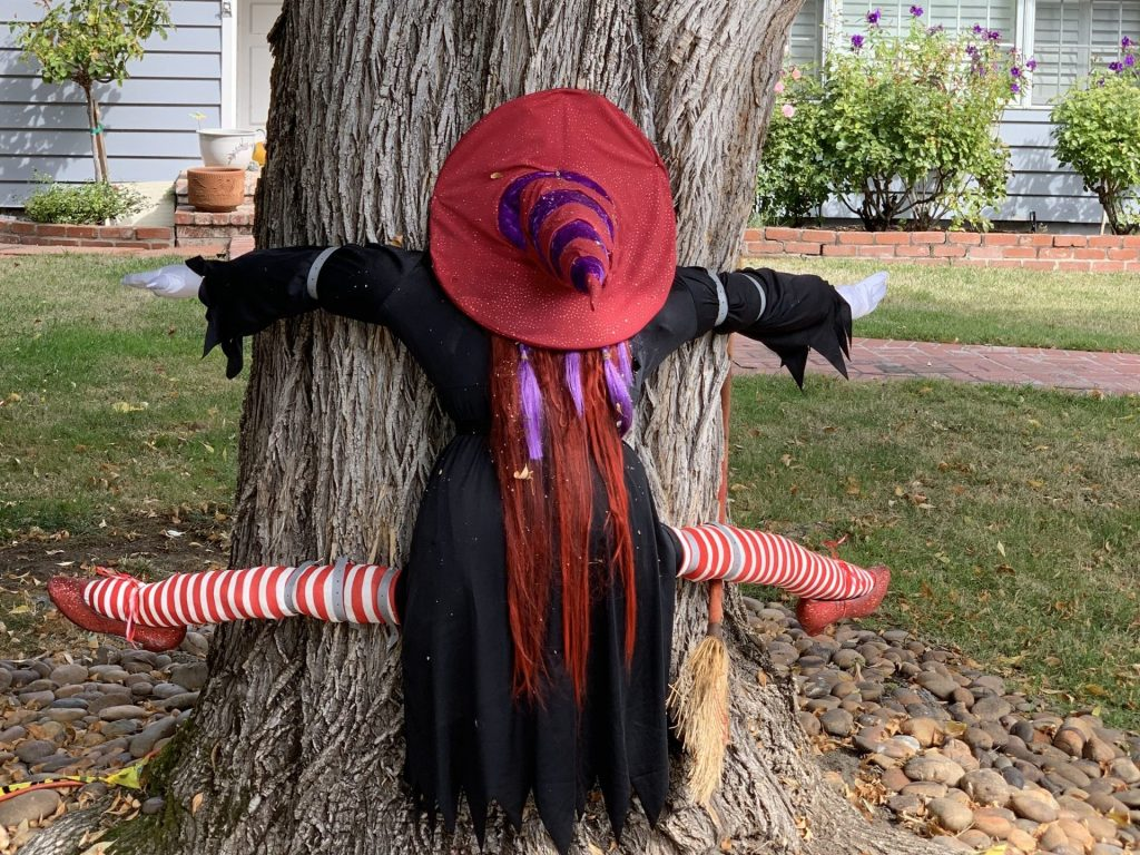 Spotted: Witch with a conscience on Sherman Avenue