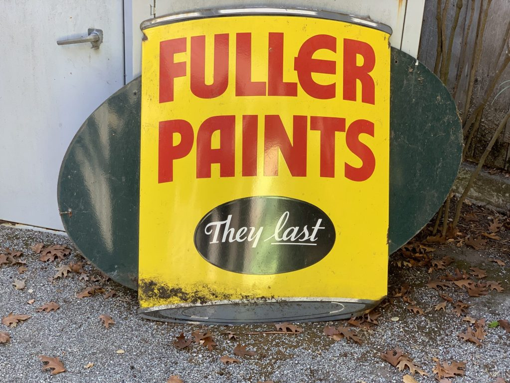 Spotted: Fuller Paints sign at Allied Arts Guild