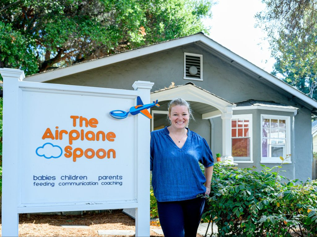 The Airplane Spoon lands in Menlo Park offering services for babies, children and parents