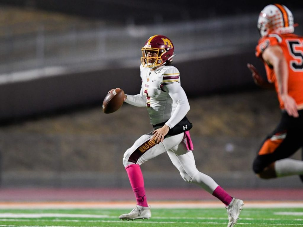 Menlo-Atherton football comes out on top under the lights Friday night