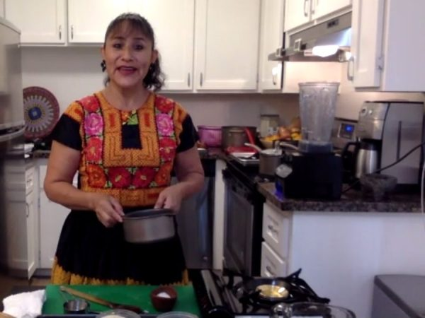 Cooking Demonstration: A Taste of Oaxaca takes place on October 14
