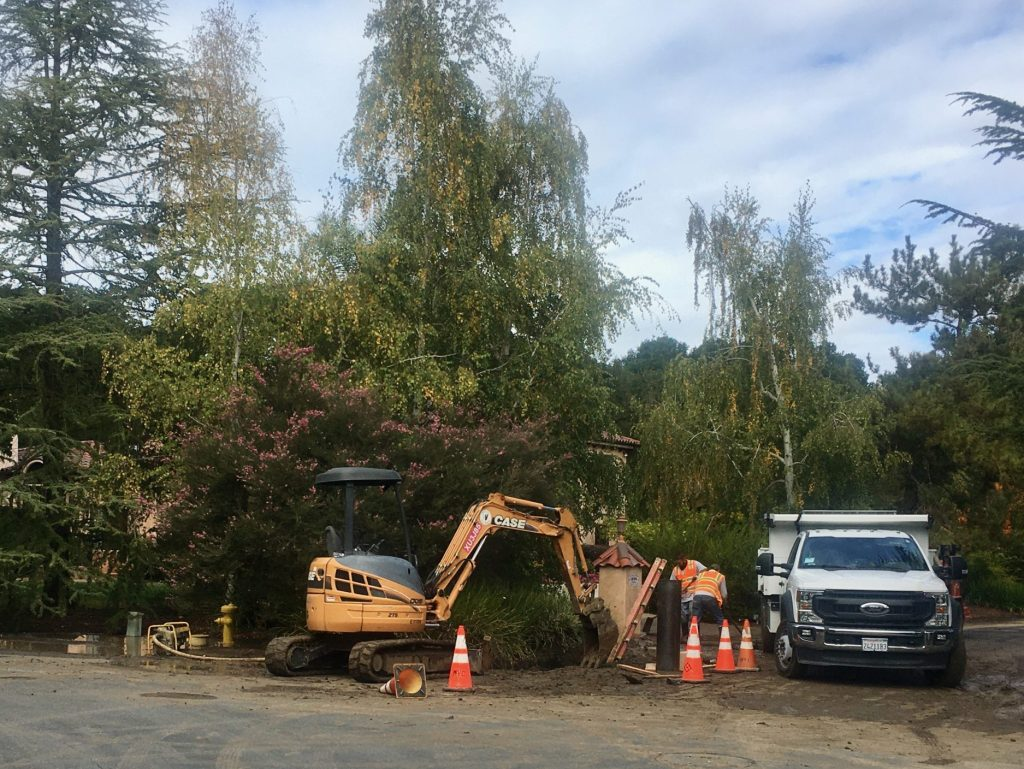Watermain break on Catalpa in Atherton – second to rupture in two days